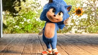 Baby Sonic - SONIC: THE HEDGEHOG Sneak Peek & Trailer (2020)