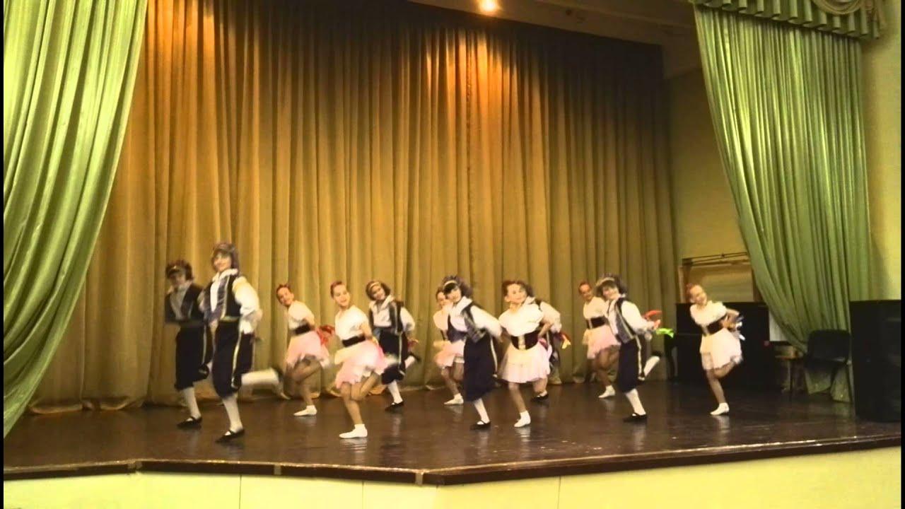 Образцовый ансамбль танца подарок
