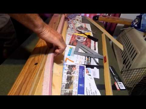 Part 1 Replacing Pool Table Rail Cushion/Bumper