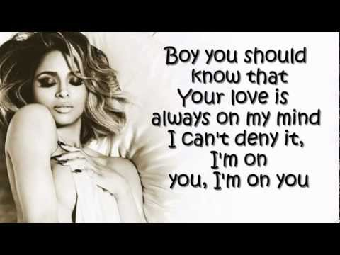 Ciara - Body Party Lyrics video