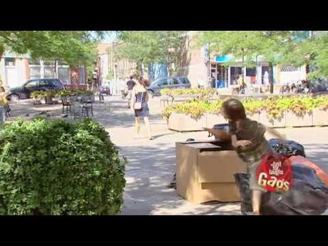 JFL Hidden Camera Pranks & Gags: Trash Kid In The Garbage Truck