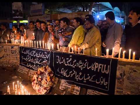 candle march against Stop Terrorism