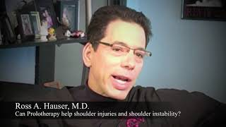 Prolotherapy for Shoulder Injuries and Instability