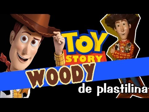 Woody - Toy Story de Plastilina