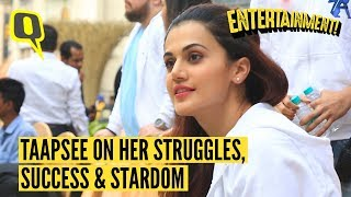 Taapsee Pannu on Her Struggles, Success and Stardom   The Quint