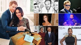 33 celebrities on GUEST list for Prince Harry and Meghan's royal wedding