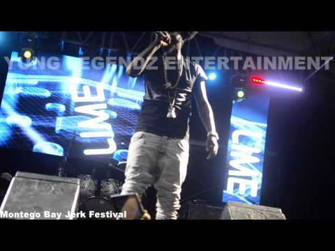POPCAAN PERFORMING LIVE AT THE LIME MOBAY JERK FESTIVAL