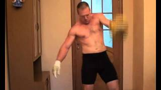 Morozov Igor*s morning warm-up Part 1 - RGSI Kettlebell workout