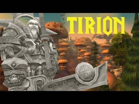 TIRION - Server Lore - Die Geschichte zum Namensgeber - World of Warcraft