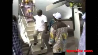 26/11/2011 Kabila atterisage à l'aeroport  de Ndolo et non à l'aeroport de ndjili