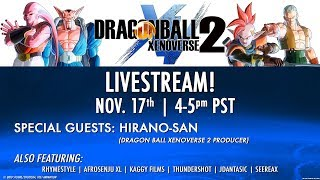 Dragon Ball XENOVERSE 2 Extra Pack #1 Livestream   PS4, X1, PC, Switch