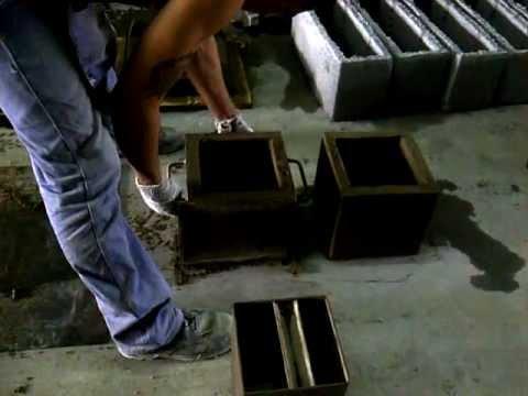 Mesa vibradora en funcionamiento maqtec maquinaria - Macetas fibra de vidrio ...