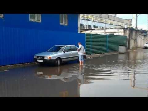 Химмаш после дождя.г.Орёл