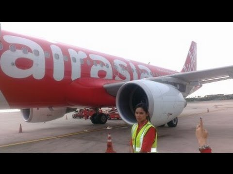 AIR ASIA BANGKOK-PHUKET FLIGHT 3017 7.6.2013 16.15-17.35PM.