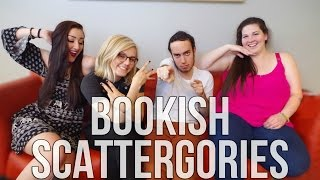 BOOKISH SCATTERGORIES feat. WhittyNovels, Michael BookLion, & sarawithoutanh.