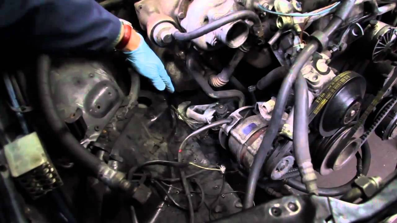 Mercedes Diesel Engine Noise And Vibration Failed Motor