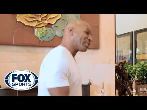 Mike Tyson does his best to imitate Muhammad Ali's shuffle. SUBSCRIBE to get the latest FOX Sports content: https://www.youtube.com/FoxSports Watch the latest popular FOX Sports clips: https://w...