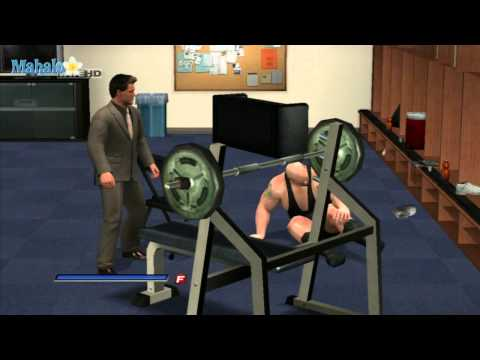 Smackdown Vs Raw 2011 - Road To Wrestlemania - Chris Jericho Backstage Brawl