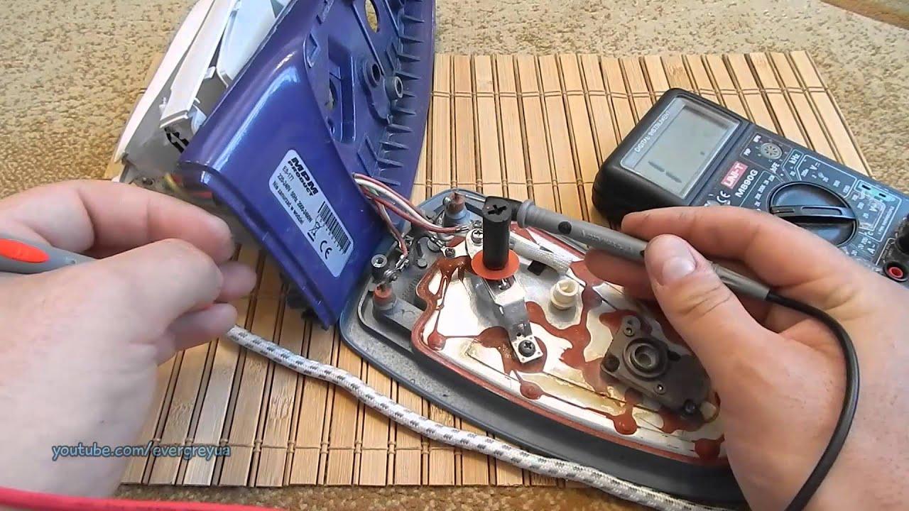 Схема электронная утюга