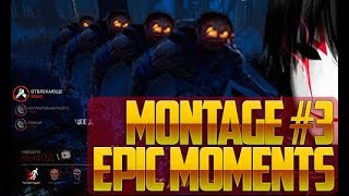 DEAD BY DAYLIGHT EPIC MOMENTS MONTAGE#3 18+ ДБД ЭПИК МОМЕНТЫ МОНТАЖ