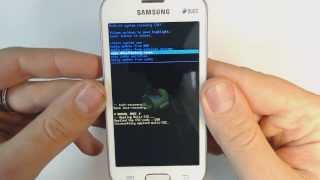 Samsung Galaxy Trend Lite Duos S7392 como aplicar o hard reset de fábrica