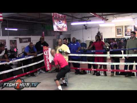 Zab Judah Workout Full HD