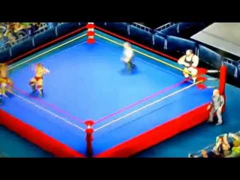 Kevin and Kerry Von Erich vs The Dingo Warrior and Crusher Yurkofv