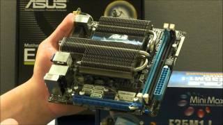 ASUS E35M1-I Deluxe Fusion Brazos Motherboard Hands-on Review