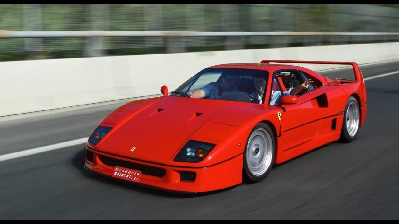 Legendary Ferrari F40 My Exciting Drive In The Ultimate