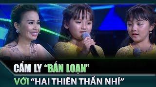 Cẩm Ly, Thu Trang 'bấn loạn' với hai thiên thần nhí Trúc Mai, Mai Anh | Tuyệt đỉnh song ca nhí