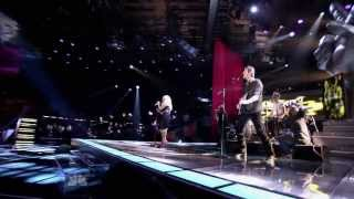 "The Voice (US) 2011. Christina Aguilera, Cee Lo, Adam & Blake - ""Crazy"""