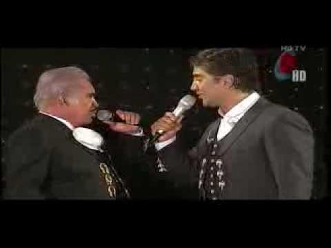 Alejandro Fernandez & Vicente Fernandez ( Perdon ) Video