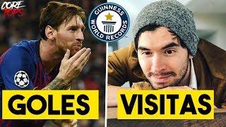 5 RECORDS GUINESS de FAMOSOS Que Nadie Podrá Superar   Germán, Messi, Duki