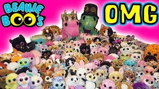 Our entire TY Beanie Boo toy huge Collection 2018