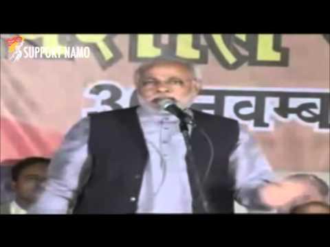 [ Must Watch ] Narendra Modi on VOTE BANK POLITICS in INDIA !