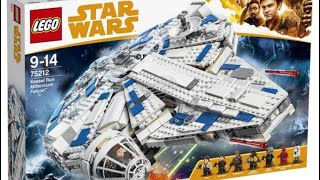 New Han Solo Movie Millennium Falcon Set- My thoughts!!