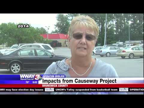 OPERATION GRIDLOCK: Causeway project nears end, impacts being felt