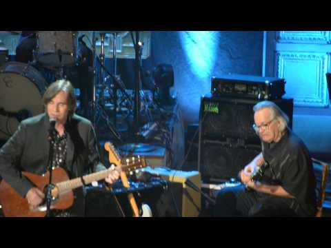 Jackson Browne and friends perform