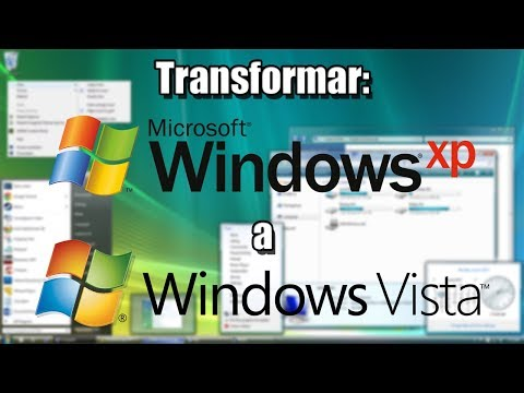 Transformar Windows XP a Windows Vista - HD 2014