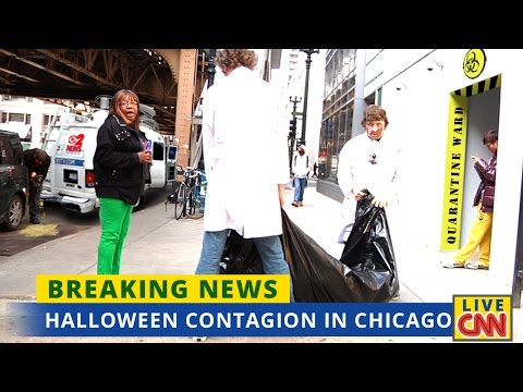 Halloween Contagion in Chicago
