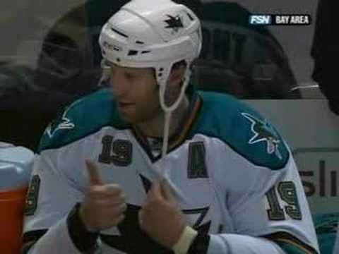 Why Joe Thornton totally rocks! Video