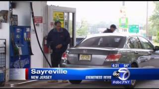 Sal Discusses Self-Serve Gasoline with Eyewitness News Reporter Toni Yates