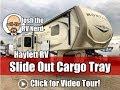 UPDATED 2019 Montana 3790RD/3791RD Slide Out Rear Cargo Tray Below Rear Living Keystone Fifth Wheel