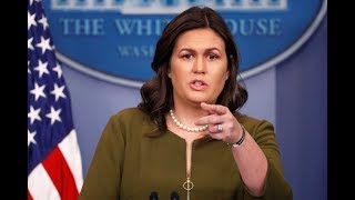 🔴WATCH LIVE: White House Press Briefing w/ Sarah Sanders 4/10/18
