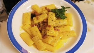 Cooking | Makaron z jajkiem i boczkiem carbonara | Makaron z jajkiem i boczkiem carbonara