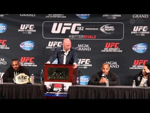 Daniel Cormier's emotional post-fight comments on loss to Jon Jones
