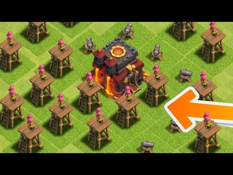 Clash of Clans - WORST BASE IN HISTORY!