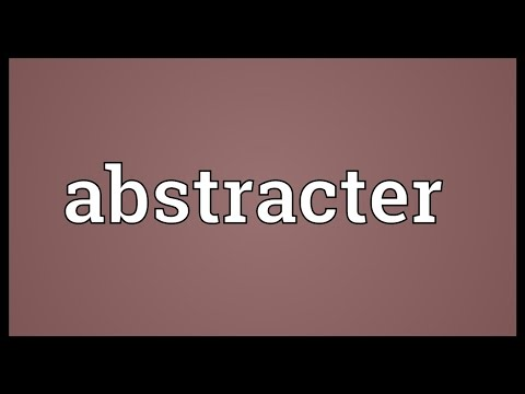 Header of Abstracter