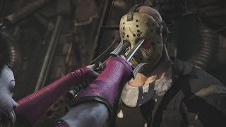 Mortal Kombat X - All X Ray Moves on Jason Voorhees (1080p 60FPS)