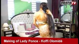 Making of lady ponce & koffi olomidé part1
